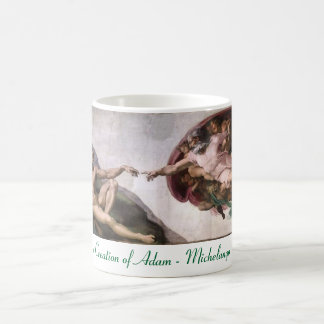 Michelangelo The Creation of Adam Mug
