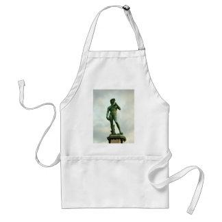 Michelangelo's David 2 Adult Apron