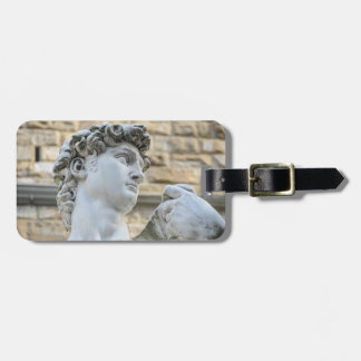 Michelangelo's David, Florence Italy Luggage Tag
