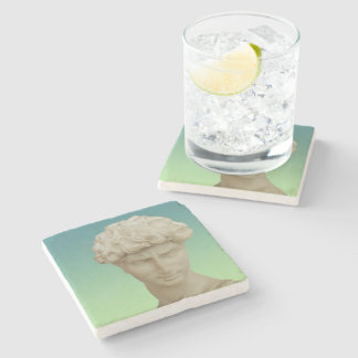 Michelangelo's David Stone Coaster