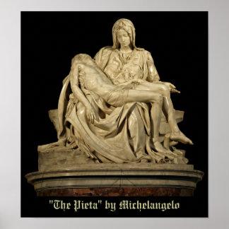 Michelangelo's Pieta Poster