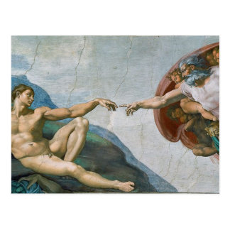 Michelangelo's Sistine Chapel Postcard