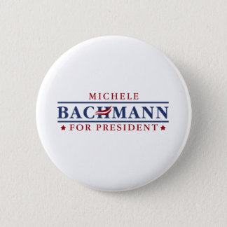 Michele Bachmann 2012 6 Cm Round Badge