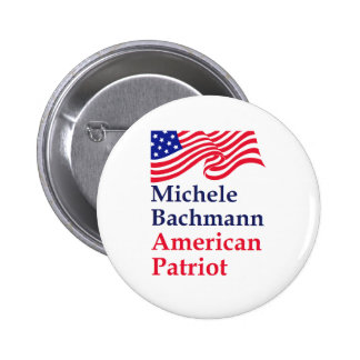 Michele Bachmann American Patriot Buttons