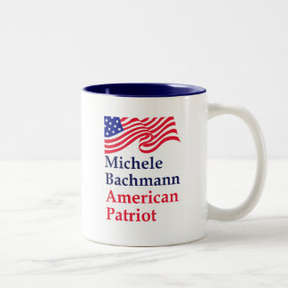 Michele Bachmann American Patriot Coffee Mugs
