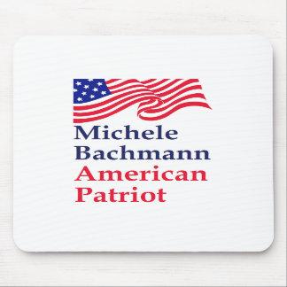 Michele Bachmann American Patriot Mousepads