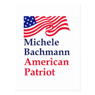 Michele Bachmann American Patriot Post Cards