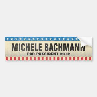 Michele Bachmann for President 2012 Bumper Sticker Car Bumper Sticker