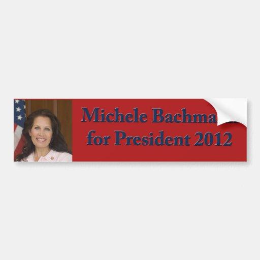 Michele Bachmann for President 2012 Bumper Stickers