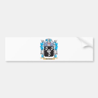 Michele Coat of Arms - Family Crest Bumper Stickers