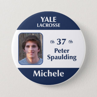 Michele - Peter Spaulding 7.5 Cm Round Badge