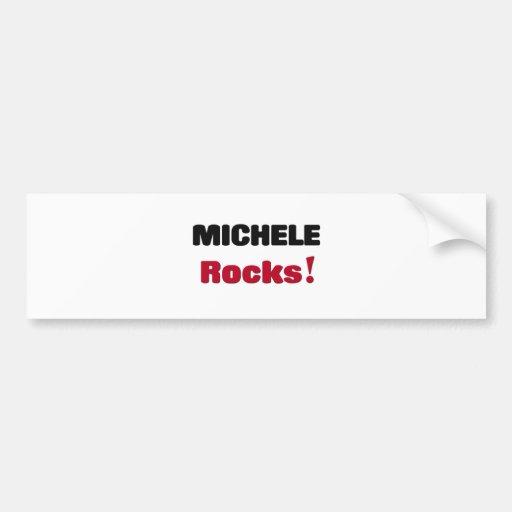 Michele Rocks Bumper Sticker
