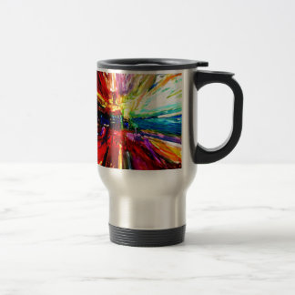 michele's multi colors travel mug