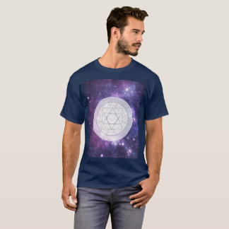 Michell New Jerusalem Sacred Geometry Galaxy Art T-Shirt