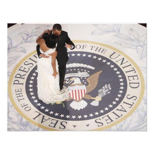 Michelle and Barack Obama Invites