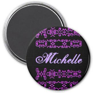 Michelle Designer Name Magnet
