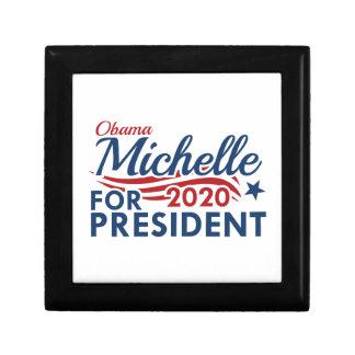 Michelle Obama 2020 Small Square Gift Box