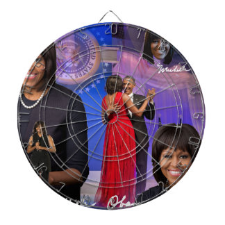 Michelle Obama Dartboard