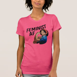 Michelle Obama - Feminist AF --  T-Shirt