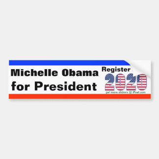 MICHELLE OBAMA FOR PRESIDENT 2020 - BUMPER STICKER