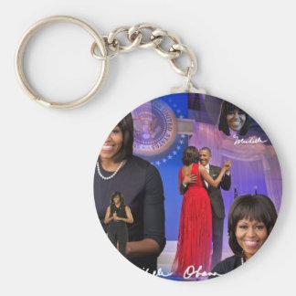 Michelle Obama Key Ring