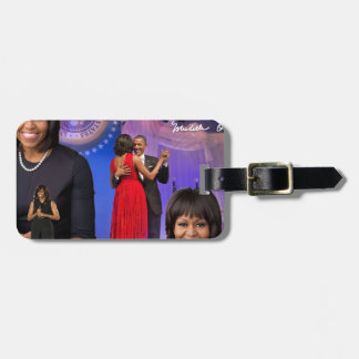 Michelle Obama Luggage Tag