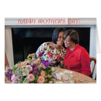 Michelle Obama Mother's Day Card