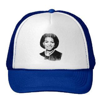 Michelle Obama plain Vintage.png Trucker Hat