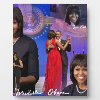 Michelle Obama Plaque