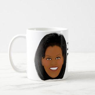 Michelle Obama: Proud of My Country Basic White Mug