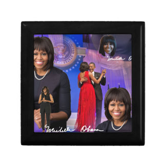 Michelle Obama Small Square Gift Box