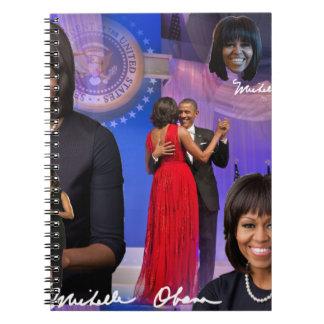 Michelle Obama Spiral Note Book