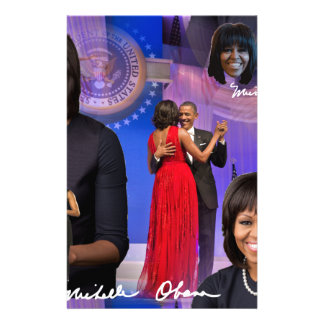Michelle Obama Stationery