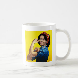 MICHELLE THE RIVETER.png Coffee Mug