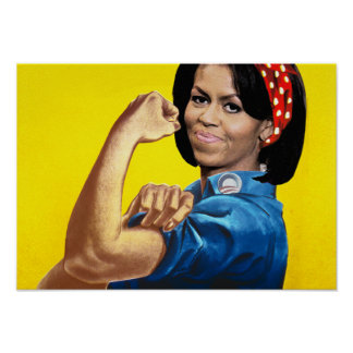 MICHELLE THE RIVETER POSTER