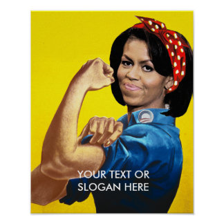 MICHELLE THE RIVETER POSTERS