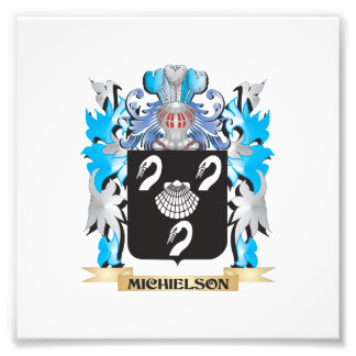 Michielson Coat of Arms - Family Crest Photograph