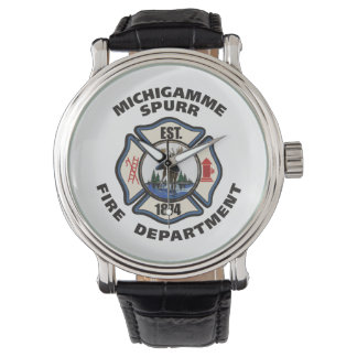 Michigamme Fire Department logo watch