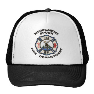 Michigamme Spurr Fire Department apparel Cap
