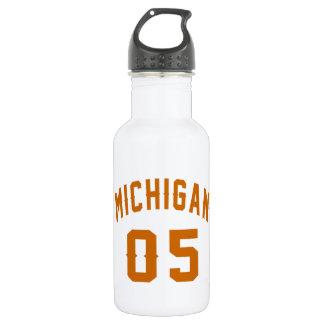 Michigan 05 Birthday Designs 532 Ml Water Bottle