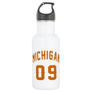 Michigan 09 Birthday Designs 532 Ml Water Bottle