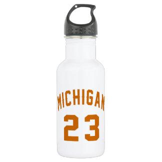 Michigan 23 Birthday Designs 532 Ml Water Bottle
