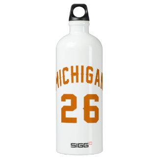 Michigan 26 Birthday Designs SIGG Traveller 1.0L Water Bottle