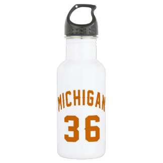 Michigan 36 Birthday Designs 532 Ml Water Bottle