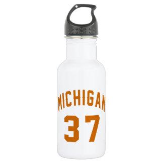 Michigan 37 Birthday Designs 532 Ml Water Bottle