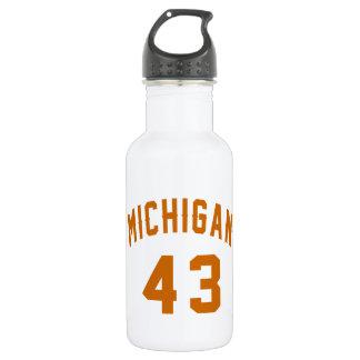 Michigan 43 Birthday Designs 532 Ml Water Bottle