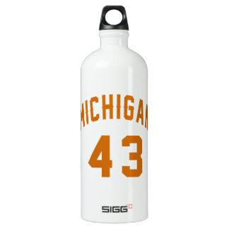 Michigan 43 Birthday Designs SIGG Traveller 1.0L Water Bottle