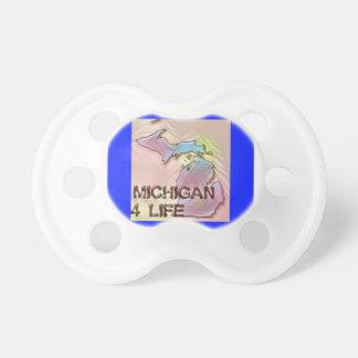 """Michigan 4 Life"" State Map Pride Design Dummy"