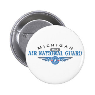 Michigan Air National Guard Pinback Button