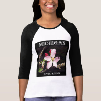 Michigan Apple Blossom T-Shirt